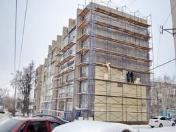 Покраска фасада капитальный ремонт